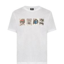 Mascots Print T-Shirt