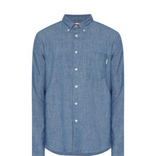 Tailored Fit Chambray Shirt