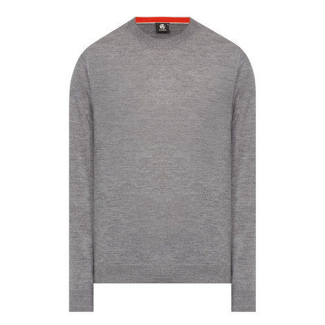 Side Stripe Wool Sweater, ${color}