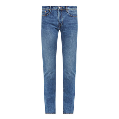 Tapered Fit Jeans , ${color}