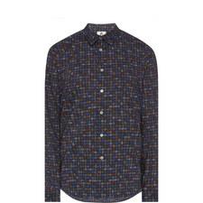 Paisley Print Slim Fit Shirt