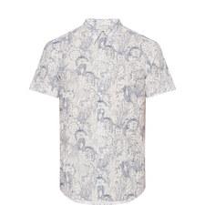 Floral Cactus Print Shirt