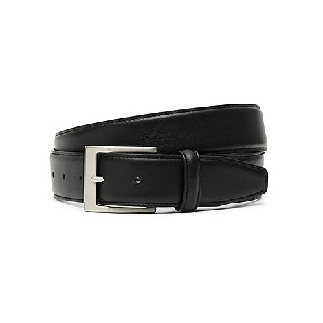 Slim Soft Leather Belt, ${color}