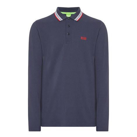 Plisy Long Sleeve Polo Shirt, ${color}
