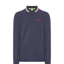 Plisy Long Sleeve Polo Shirt