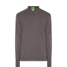 Paderna Long-Sleeved Polo Shirt