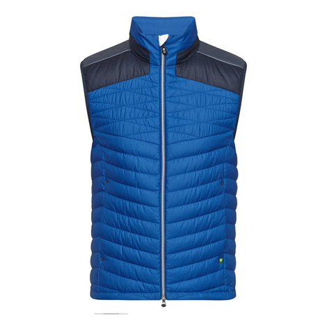 Vakobo Quilted Gilet, ${color}
