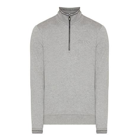 Sweat Half-Zip Sweater, ${color}