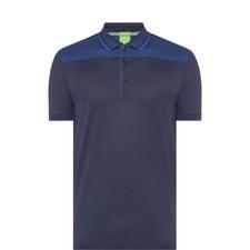 Contrast Shoulder Polo Shirt