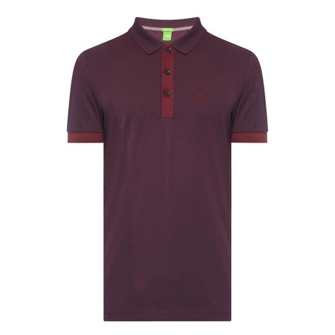 Contrast Polo Shirt, ${color}