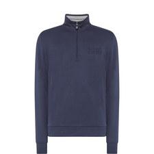 Logo Half-Zip Sweatshirt