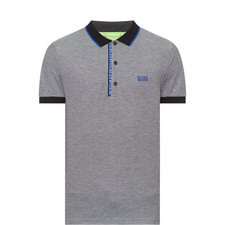Paule Contrast Polo Shirt