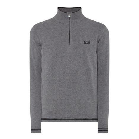 Zime Half-Zip Sweater, ${color}