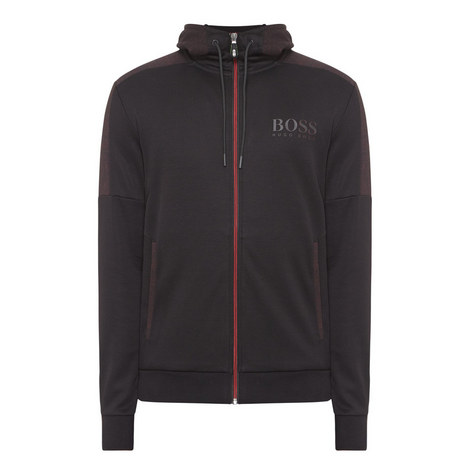 Logo Zip-Through Hoodie, ${color}