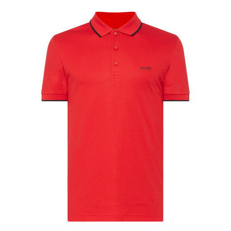 Logo Back Polo Shirt, ${color}