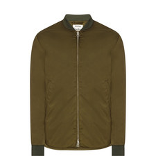 Mylon Satin Bomber Jacket