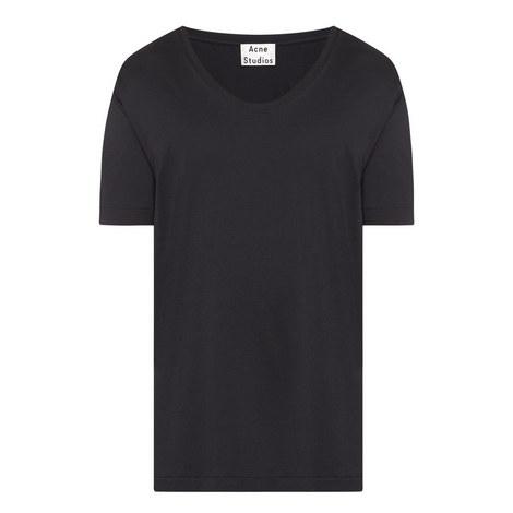 News Scoop Neck T-Shirt, ${color}