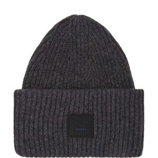 Pansy Patch Ribbed Beanie