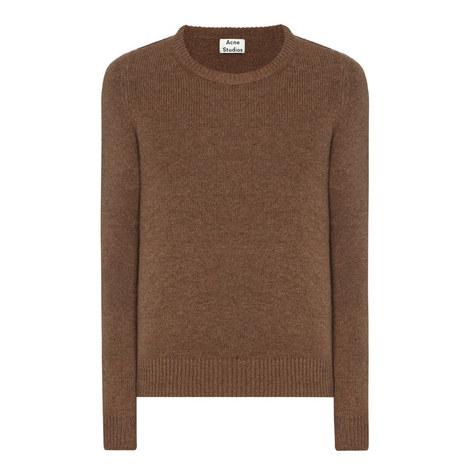 Kai Reverse Shetland Wool Sweater, ${color}
