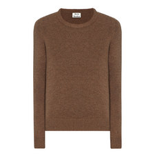 Kai Reverse Shetland Wool Sweater