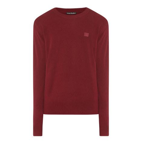 Nalon Face Crew Neck Sweater, ${color}
