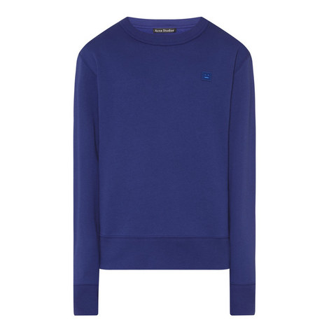 Fairview Face Crew Neck Sweatshirt, ${color}