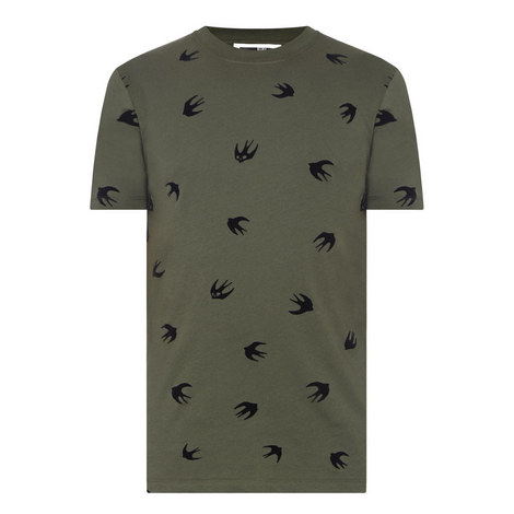 Swallow Print T-Shirt, ${color}
