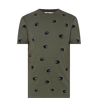 Swallow Print T-Shirt