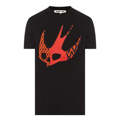 Swallow Appliqué T-Shirt, ${color}