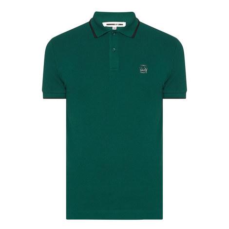 Tipped Piqué Polo Shirt, ${color}