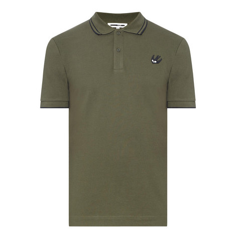 Tipped Swallow Polo Shirt, ${color}