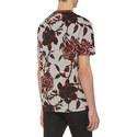 Floral Print T-Shirt, ${color}