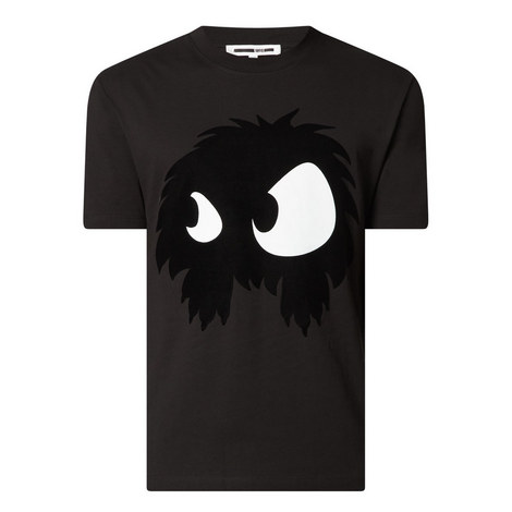 Monster Motif T-Shirt, ${color}