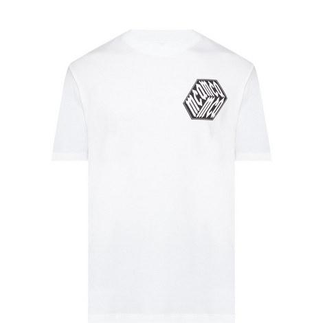 Cube Patch Print T-Shirt, ${color}
