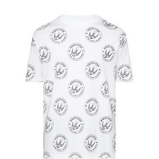 Swallow Patch Print T-Shirt