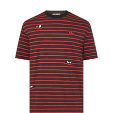 Stripe Eyes T-Shirt