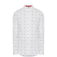 Swallow Print Shirt