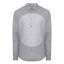 Dogstooth Print Dot Shirt