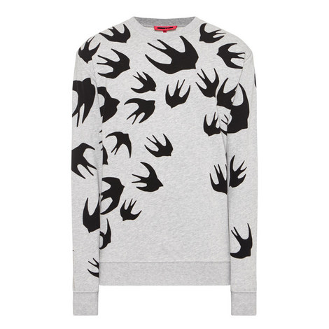 Swallow Print Sweatshirt, ${color}
