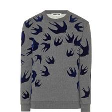 Velvet Swallow Sweater