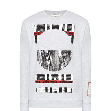 Wood Print Sweatshirt