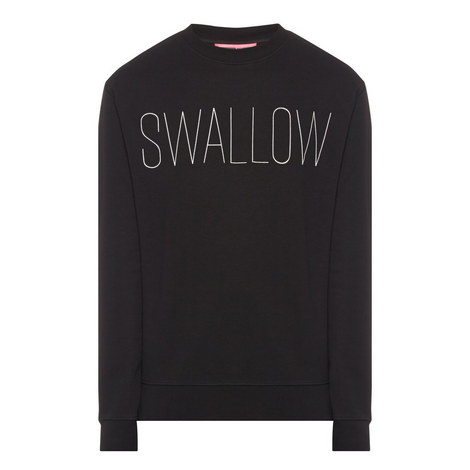 Swallow Print Sweater, ${color}
