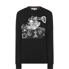 Bunny Motorcycle Sweatshirt