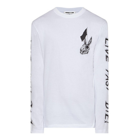 Bunny Skater T-Shirt, ${color}