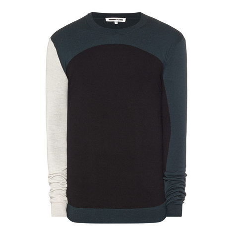 Colour Block Wool Sweater, ${color}