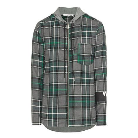 Tartan Zip Overshirt, ${color}