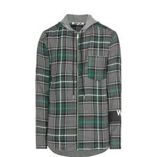 Tartan Zip Overshirt