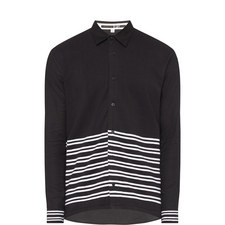 Knitted Stripe Shirt
