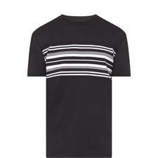 Stripe Crew Neck T-Shirt
