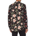 Floral Print Crêpe Shirt, ${color}